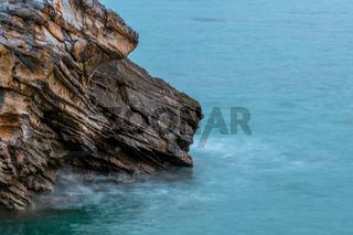 Coastal Cliff Close-Up