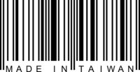 Barcode - Made in Taiwan