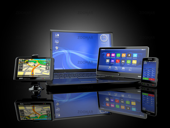 Electronics. Laptop