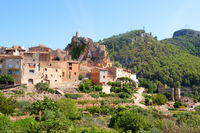 Village Pratdip in Spanish Catalunya