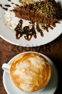 Coffe dessert