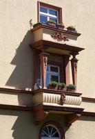 Klettenberg Gürtel, House facade, Cologne-Riehl, NRW, Rhineland