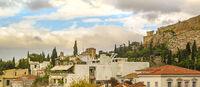 Plaka Neighborhood, Athens, Greece