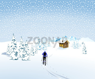 Skianglauf im Schnee.jpg
