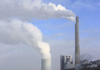 black coal-fired power plant, Heilbronn, Germany