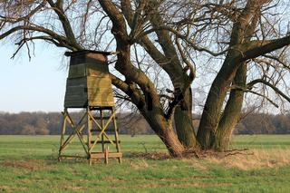 Jagdansitz / Hunting pulpit