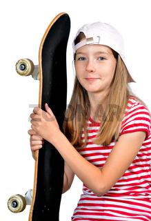 Mädchen skateboard rapper skater