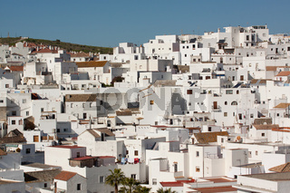 Weisse Haeuser in Vejer. Andalusien