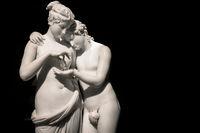 Cupid and Psyche (Amore e Psiche) - symbol of eternal love, by sculptor Antonio Canova