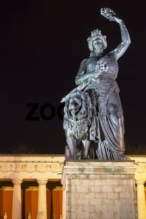 Bavaria Statue in München