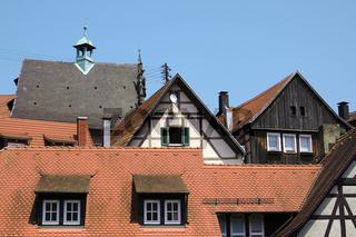 Dächer und Giebel Altstadt Gernsbach
