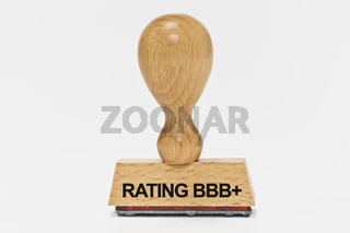 Stempel Rating BBB plus | stamp Rating BBB plus