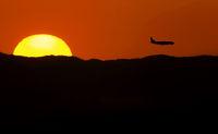 Flying on horizon