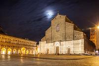 San Petronio Basilica and Piazza Maggiore in Bologna