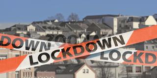Lockdown, Ausgangssperre in der Stadt