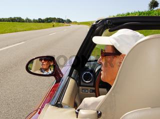 Cabrio Fahrer