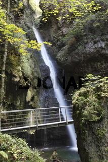 Am Hinanger Wasserfall