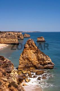 Mediterrane Felsküste