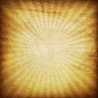 Retro brown sunburst background.