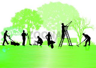 Garten und Gartenarbeiten.eps