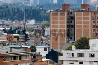 Impressions of the Bogota Cityscape