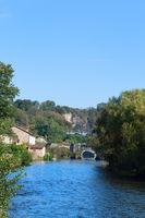 River Vienne in Saint-Leonard-de-Noblat