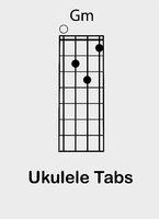 Ukulele chords G minor