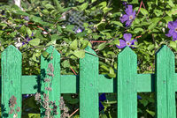 Green board fence