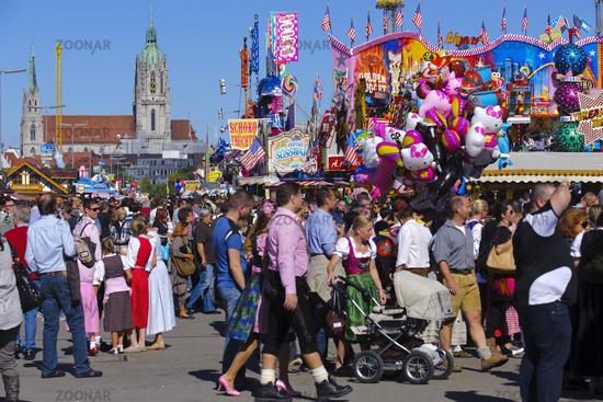 Oktoberfest in Munich, Bavaria