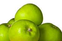 Group of green apples