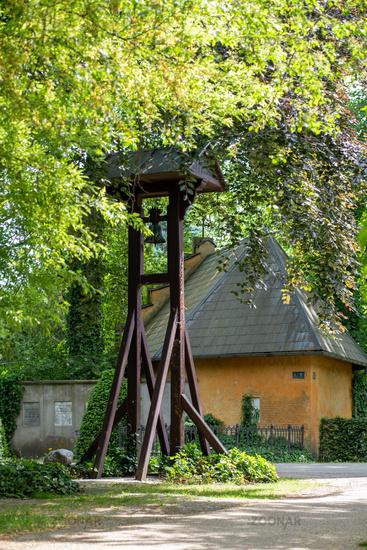 Assistens Cemetery in Copenhagen, Denmark