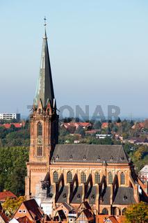 St. Nicolai-Kirche in Lüneburg, Deutschland