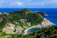 Anse Figuier, Terre-de-Haut, Iles des Saintes, Les Saintes, Guadeloupe, Kleine Antillen, Karibik.