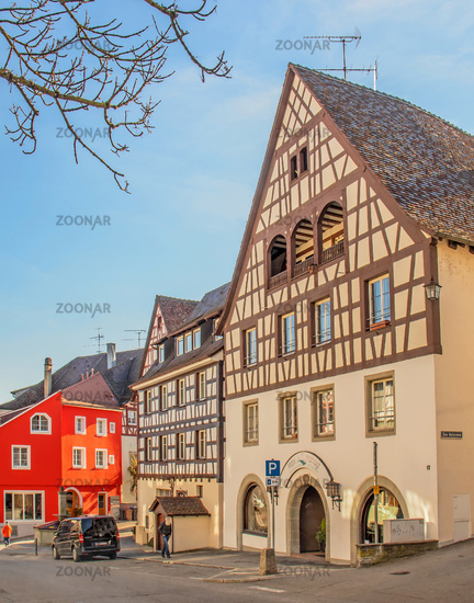 Old town, Überlingen on Lake Constance