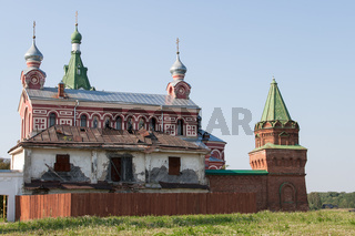 old historical monastery of christianity
