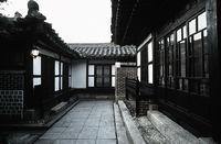 Traditonal Korean House, Courtyard