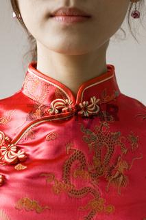 Chinese cheongsam costume