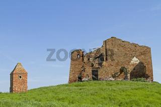 Ruine eines Bauernhauses