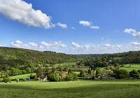 UK - Wiltshire - Limpley Stoke Valley