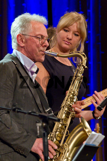 Günther Fischer und Tochter Laura