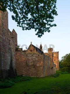 View of Peckforton Castle