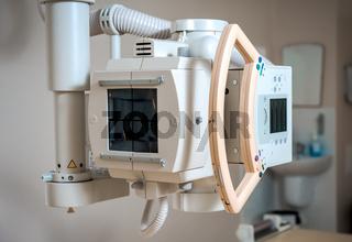 X-Ray (or radiography) equipment at hospital