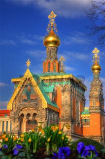 Russische Kapelle Sakralbau Mathildenhöhe Darmstadt
