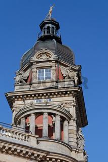 Die alte Oberpostdirektion in Hamburg