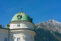 Dome of the Kaiserliche Hofburg  (imperial palace) in Innsbruck