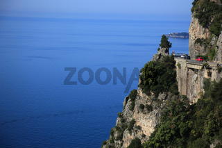 Amalfiküste und Straße Amalfitana