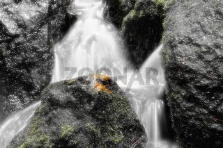 Träumen am Wasserfall