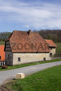 Nebengebaeude des Klosters Dalheim, Deutschland