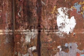 Rusty Dockside Wall Background