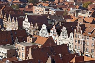 Stadtansicht der Hansestadt Lüneburg, Deutschland